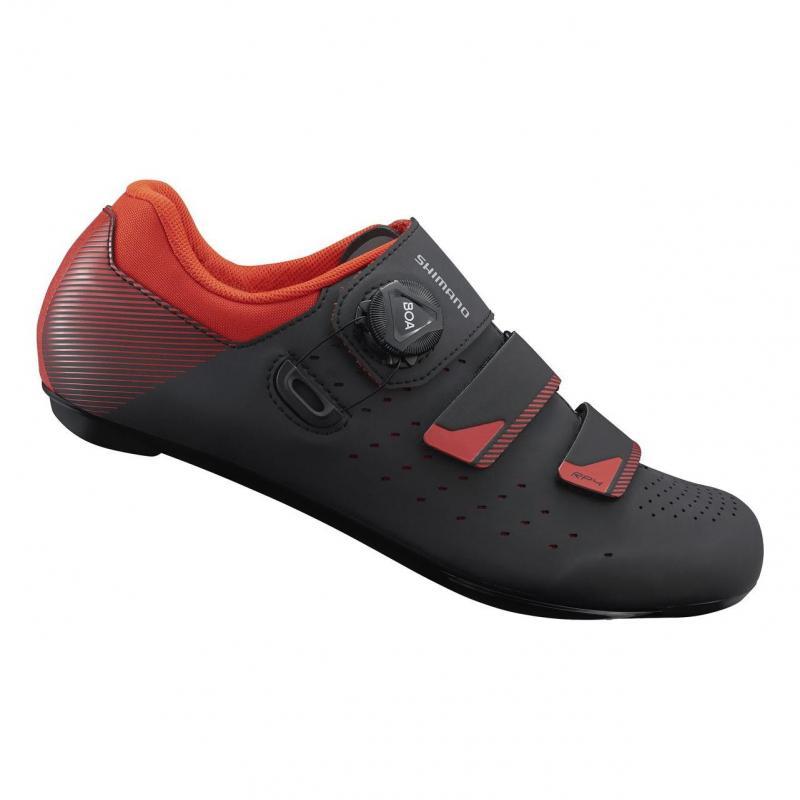 Chaussures Route Shimano RP400 Noir/Orange Rouge