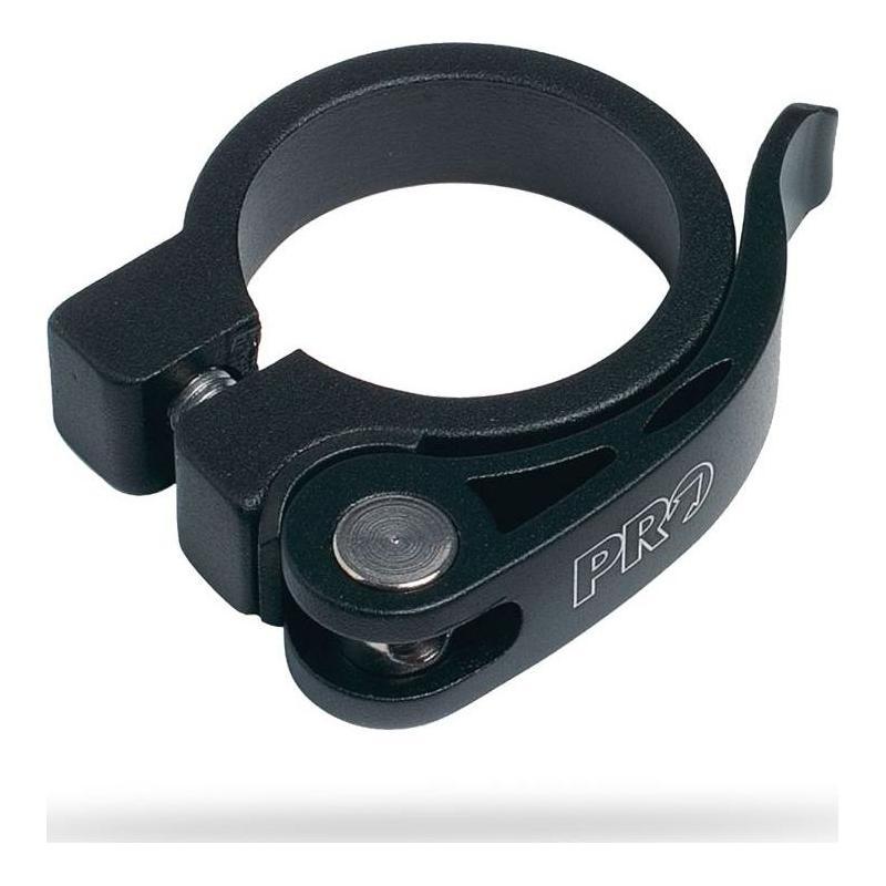 Collier de Tige de Selle PRO Serrage rapide 28,6 mm Noir