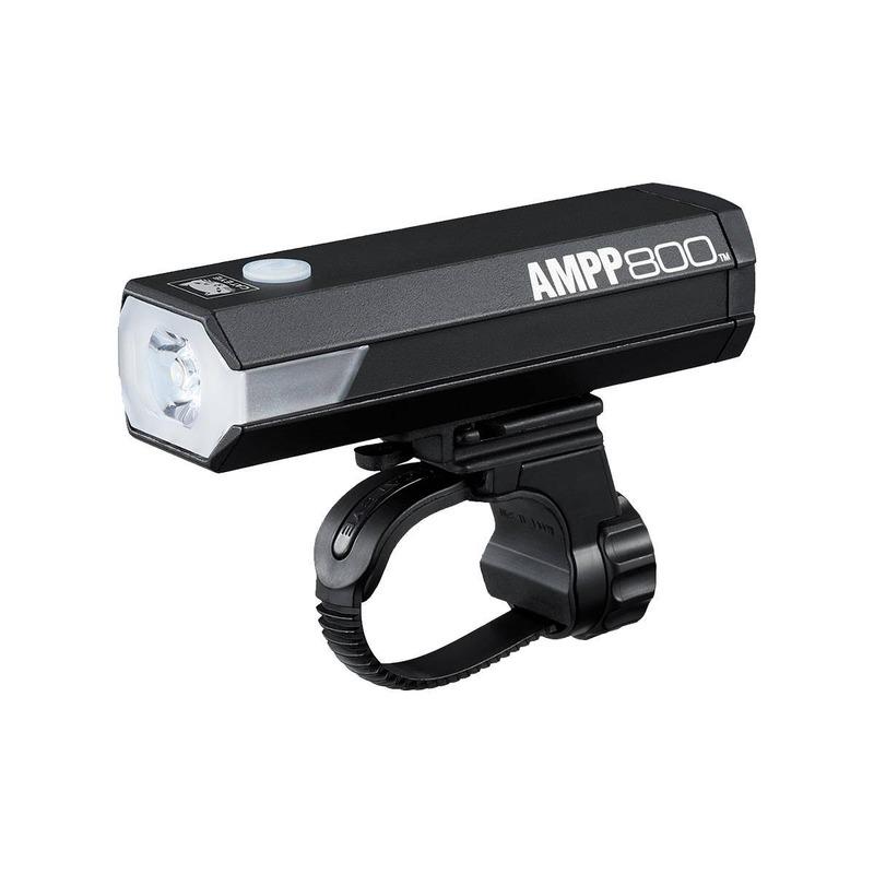 Éclairage vélo avant Cateye AMPP 800 Noir