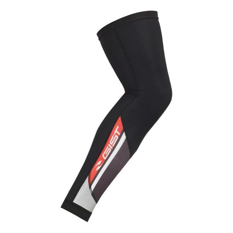 Jambières Gist Thermodress avec inserts réflecteur Noir/Rouge