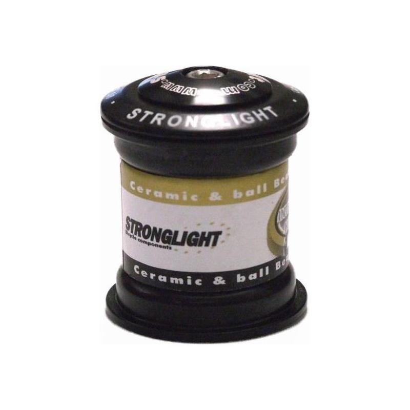 """Jeu de direction Stronglight O'Light ST 1.1/8"""" Noir"""