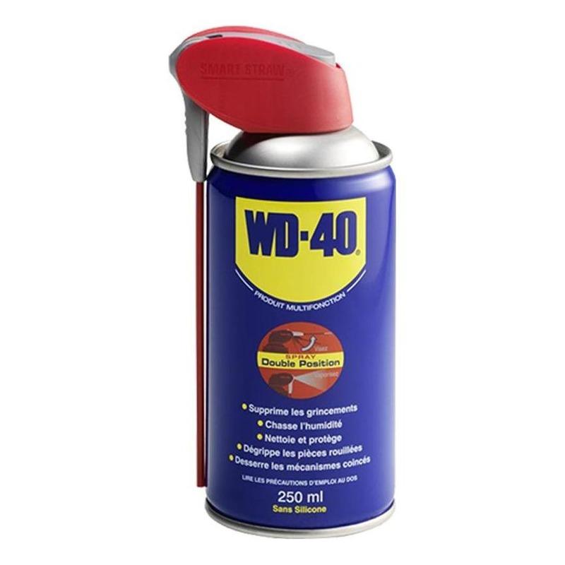 Lubrifiant WD-40 Double Spray 250 ml