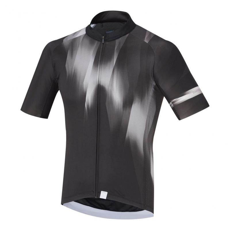 Maillot Shimano Breakaway Manches courtes Noir