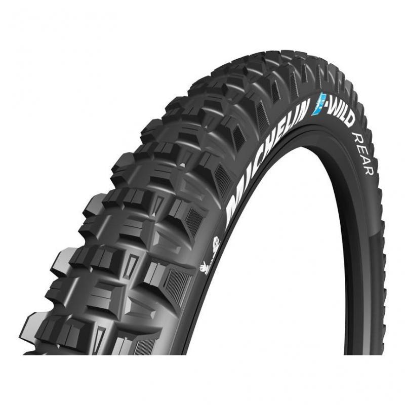 Pneu Michelin E-Wild Arrière Gum-X 27.5x2.60 TS Noir