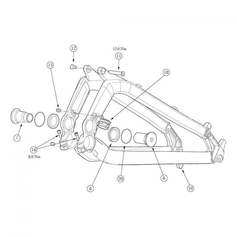 Roulements pivot principal GT Verb (x2)