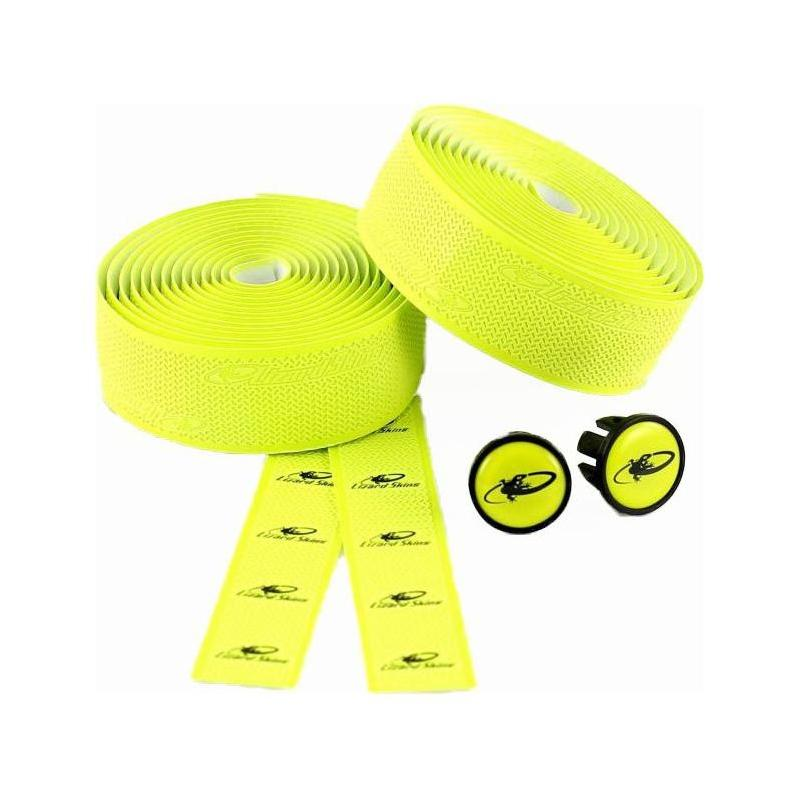Ruban de cintre Lizard Skins DSP Bar Tape 2.5 Jaune Neon