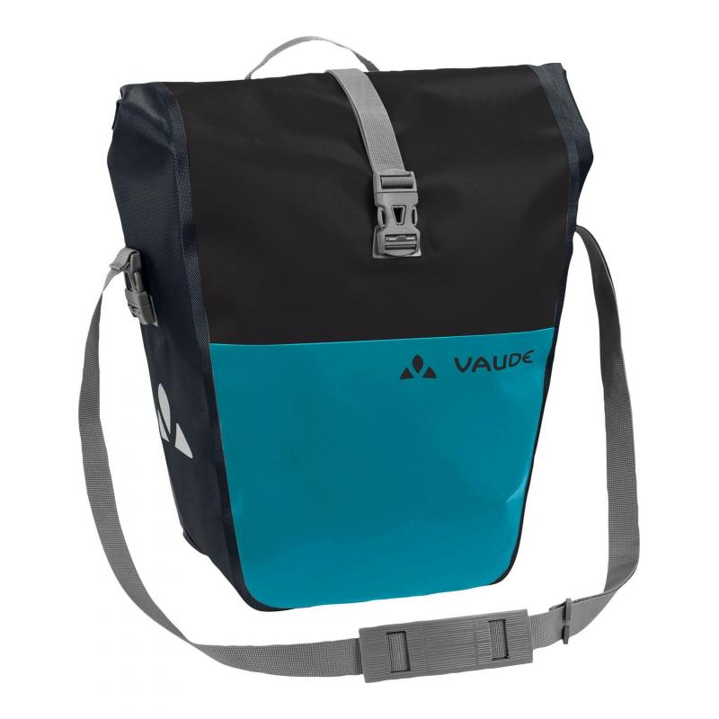 Sacoches porte-bagages Vaude Aqua Back Color 48 L Noir/Alpine Lake