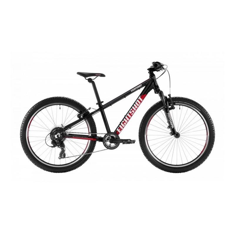 Vélo enfant Eightshot X-Coady 24 FS Noir/Rouge/Blanc
