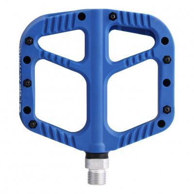 Pédales Plates VTT SB3 Flowy Nylon Bleu