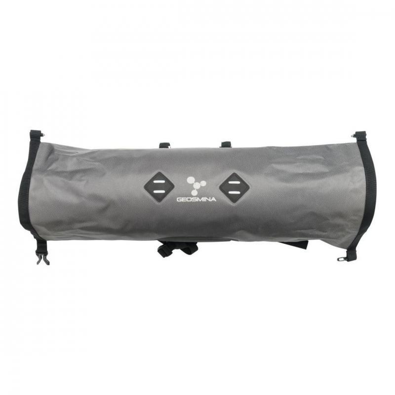 Sacoche de Cintre Geosmina Handlebar Bag 10 L Gris - 1