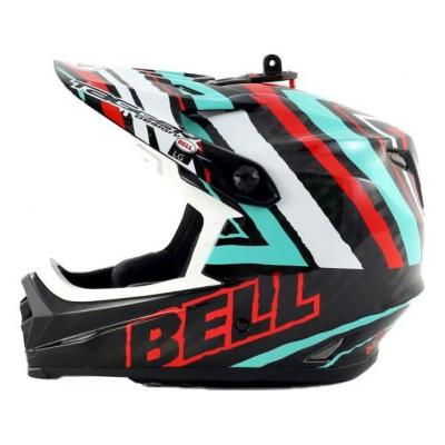 Casque Bell Full-9 carbone (Tagger Scrub)