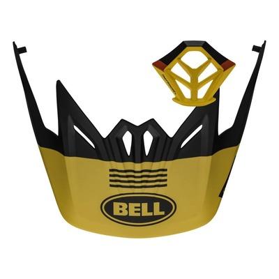 Kit visière + ventilation mentonnière Bell Full-9 Jaune/Noir