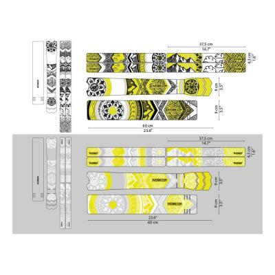 Sticker de protection de cadre Dyedbro Mandala Blanc