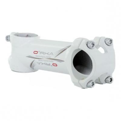 Potence Orka Aluminium 31.8 L. 110 mm +/-7D Blanc