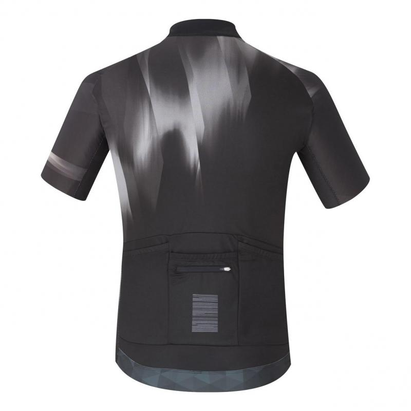Maillot Shimano Breakaway Manches courtes Noir - 1