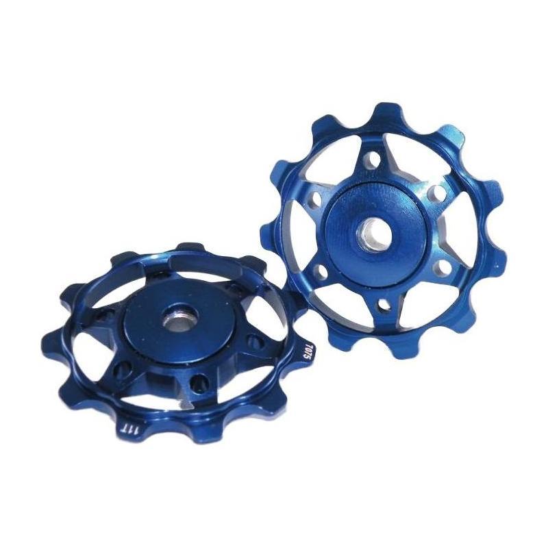 Galets de dérailleur XLC PU-A02 Bleu
