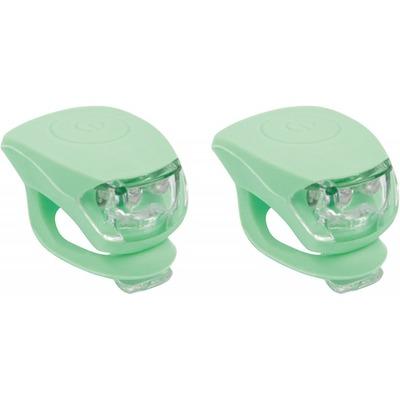 Kit d'éclairage avant + arrière Urban Proof LED Silicone Vert