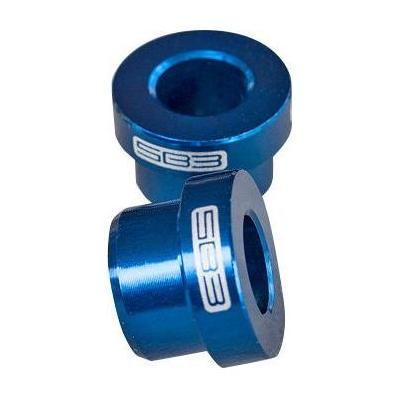 Entretoises d'amortisseur SB3 38 x 8 mm (Paire) Bleu