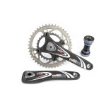 Pedalier vtt controltech wild d carbone 44/29 dents 613 g 175 mm