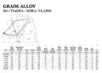 Vélo gravel GT Grade Alloy 105 2017 Gris - 1