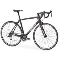Vélo route Trek 1.2 Compact H2 Noir Mat 2017 - 1
