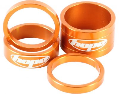 "Set 4 entretoises Hope Space Doctor 1.1/8"" Orange"