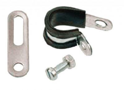 Collier de montage pour porte-bagages arrière Pletscher D.18 mm
