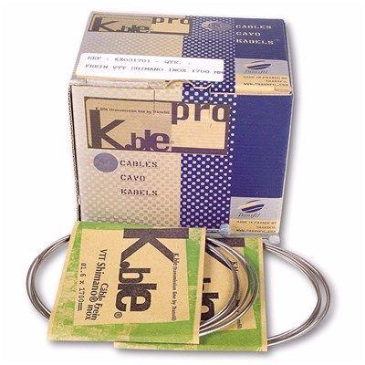 Câble de frein VTT K.Ble Pro 1,5 x 1700 inox (x20)