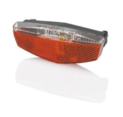 Éclairage arrière XLC LED CL-R19 USB sur porte-bagages