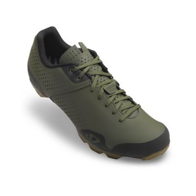 Chaussures VTT Giro PRIVATEER LACE Vert Olive/Gum