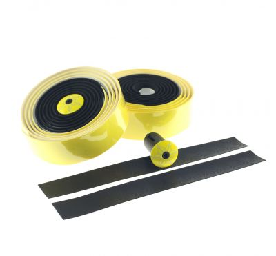 Ruban de cintre Supacaz Super Sticky Kush Tape Jaune/Noir
