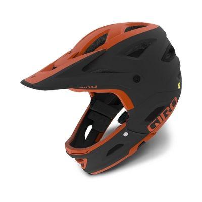 Casque Giro Switchblade MIPS Noir Mat/Orange