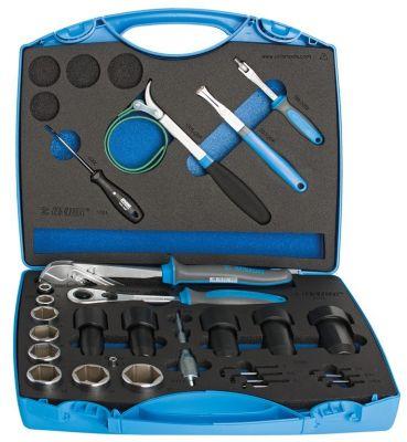 Kit d'entretien Unior pour suspensions 27 pièces 1704