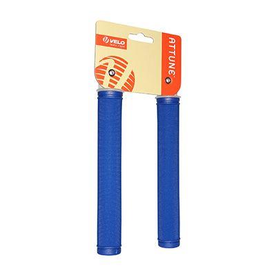 Poignée Velo Attune fixie/city longues 175 mm Bleu