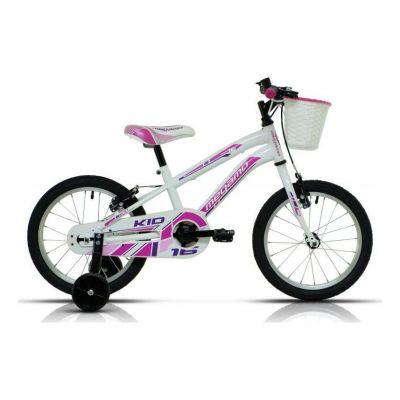 Vélo Enfant Megamo Kid Girl 16'' Blanc 2020