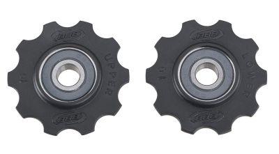 Galets de dérailleur roulements céramique BBB RollerBoys 10 dents (noir) - BDP-11