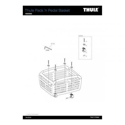 Fixation de panier Thule Pack'n Pedal - 52430