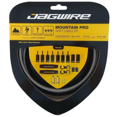 Kit complet câbles et gaines dérailleur Jagwire Mountain Pro - Titanium MCK223