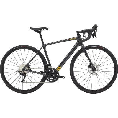 Vélo Route Femme Cannondale Synapse Disc Shimano 105 Gris Graphite 2020