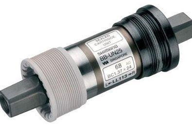 Boîtier de pédalier Shimano BB-UN55 Carré ITA 70x113 mm
