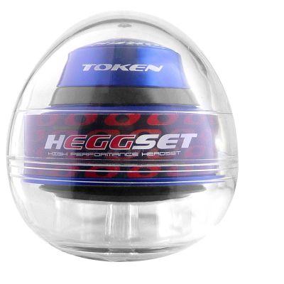 """Jeu de direction Token hEGGset Taper intégré/semi-intégré droit ou conique 1.1/8"""" - 1.5"""" 45° Bleu"""