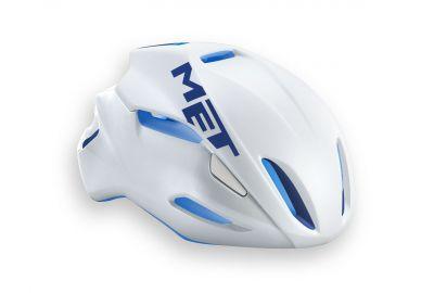 Casque MET Manta Blanc/Bleu