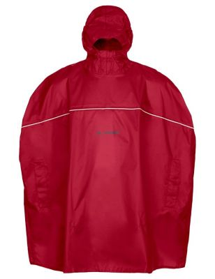 Poncho imperméable enfant Vaude Kids Grody Indian Rouge