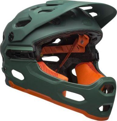 Casque Bell Super 3R MIPS Vert/Orange Mat
