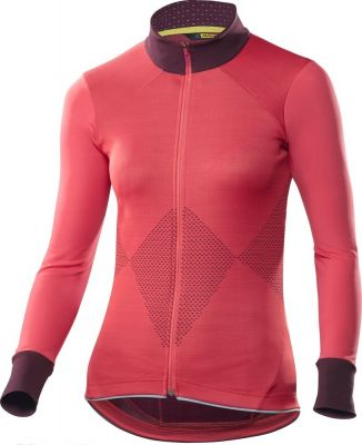 Maillot femme Mavic manches longues Sequence Hibiscus