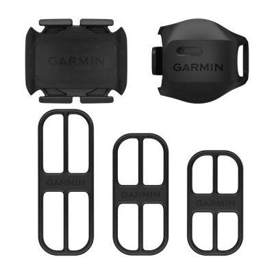 Kit de capteurs de vitesse + cadence Garmin ''2'' ANT+/BT