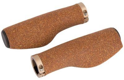 Poignées ergonomiques Ergotec Kyoto Kork liège 130/130 mm Marron