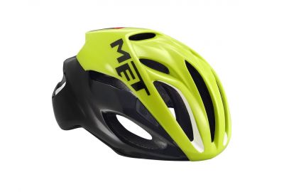 Casque MET Rivale Safety jaune/Noir