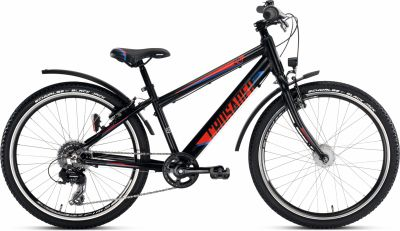"Vélo Enfant 24"" PUKY Crusader 24-8 Alu Active Light Noir"