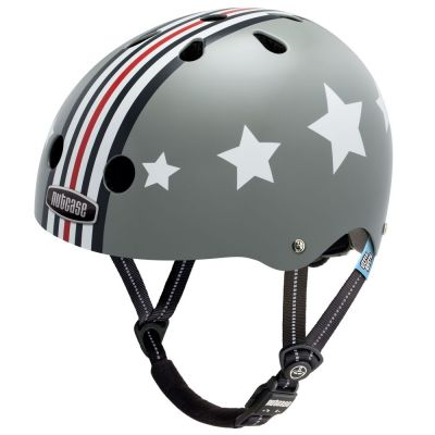 Casque enfant Nutcase Little Nutty Silver Fly